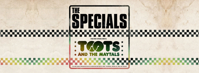 The Specials and Toots And The Maytals