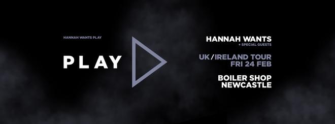 CONCEPT10 (1.2) / HANNAH WANTS 'PLAY' UK TOUR / SAM DIVINE / TOM SHORTERZ / GENTLEMAN JONNY : BOILER SHOP