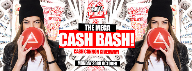 £500 CASH GIVEAWAY // 23.10.17 // HALO BOURNEMOUTH
