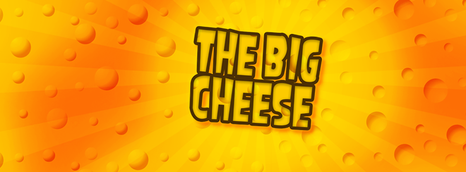 THE BIG UV CHEESE - Non Stop Day Glow Cheesy Pop!