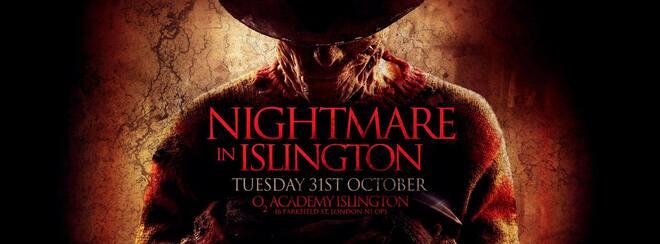 Nightmare in Islington | October 31st Halloween in the o2 Academy