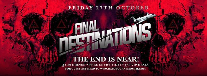 Final Destination: The HaloWeen Edition