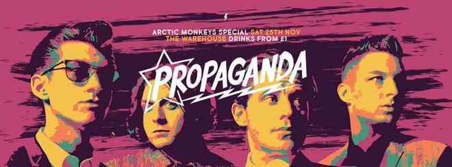 Propaganda Leeds – Arctic Monkeys Special