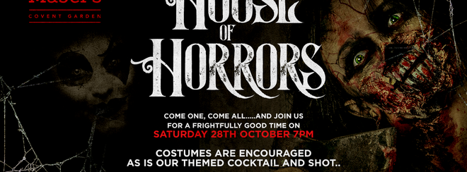 Halloween House of Horrors @Mabel's