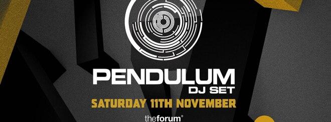 Pendulum at The Forum Hertfordshire • Saturday 11th November