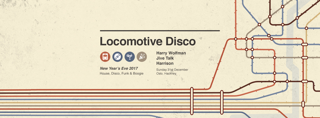 Locomotive Disco NYE