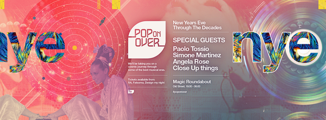 Pop on Over: New Years Eve '17 party
