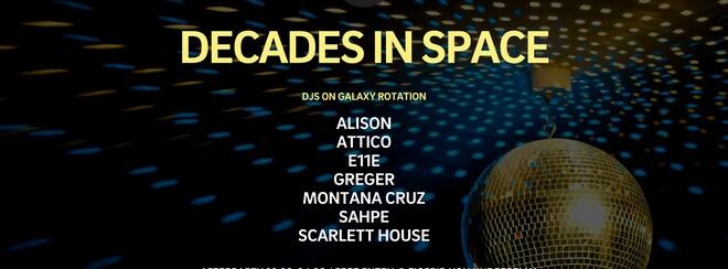 Decades in Space (Rooftop) #freeparty
