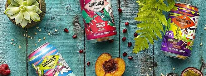 Crooked Craft Beverages, Burgers, Live Art & Music @ Magic Roundabout