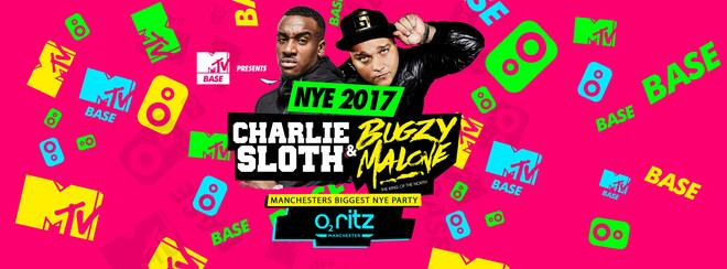 MTV Base New Years Eve Manchester Feat: Charlie Sloth & Bugzy Malone