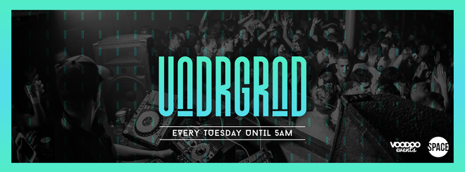 Underground – 2 For Tuesday – Tuesdays at Space