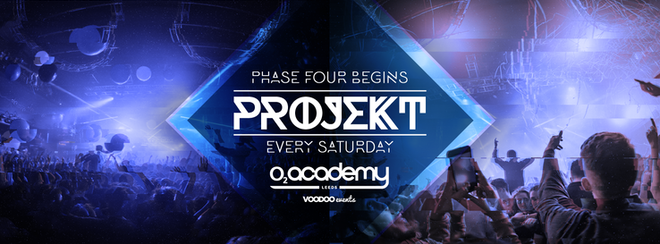 PROJEKT – Saturdays at the O2 Academy
