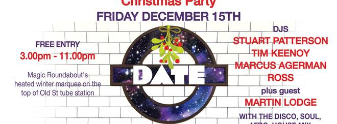 The DATE + Jocks and Nerds Christmas Party