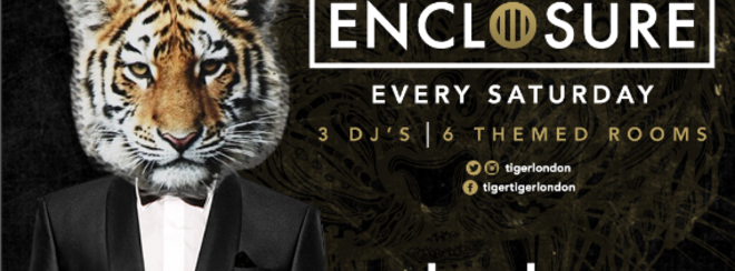PAY WEEK PARTY - Tiger Saturday | Pre-Paid Tickets