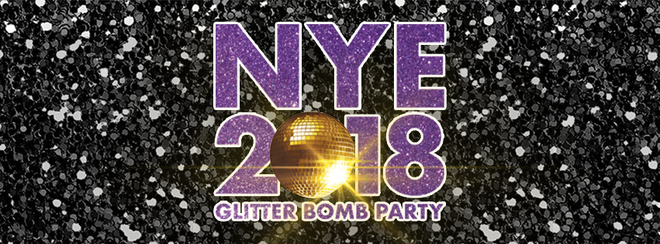 New Year's Eve Glitter Bomb Party