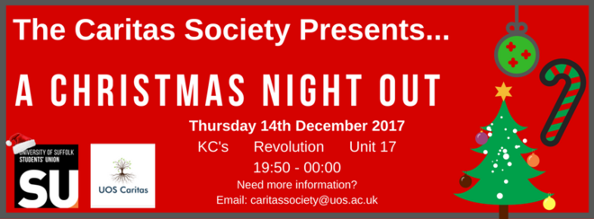 The Caritas Society Presents: Christmas Night Out