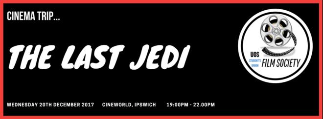 Film Society Cinema Trip: The Last Jedi