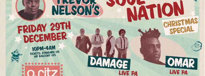 Trevor Nelson's Soul Nation Christmas Party Ft: Damage, Omar & More!