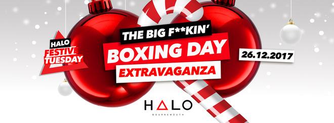 Boxing Day Blowout // 26.12.17 // Halo Bournemouth