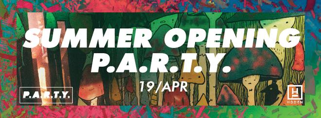 Summer Opening P.A.R.T.Y. | Hidden MCR