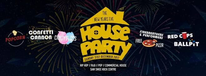 The New Years Eve House Party 2017 | London's Funnest NYE Rave!