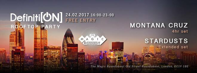 East London Rooftop Party (free entry) + Afterparty