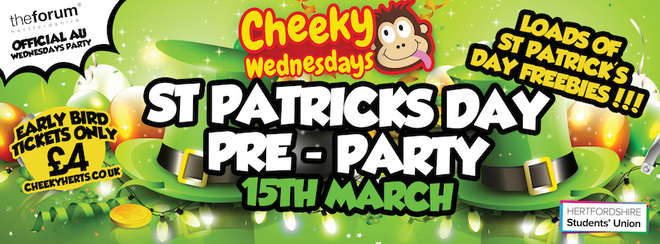 St Patrick's Day (Pre)Party!