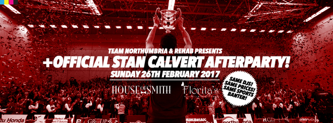 REHAB+ / OFFICIAL STAN CALVERT POLY AFTERPARTY! / HOUSE OF SMITH