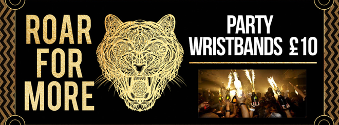 VIP Wristbands Saturday!