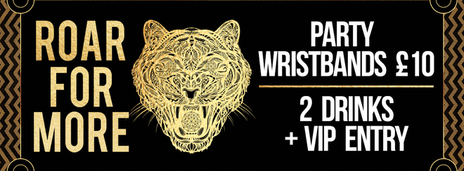 Saturday Night VIP Wristbands!
