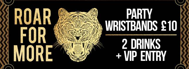 Saturday Night VIP Wristbands!