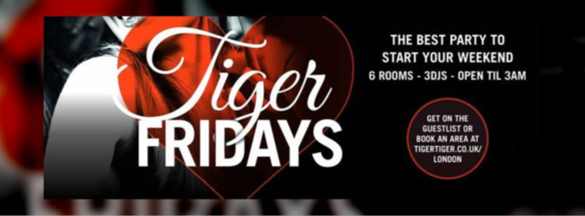 I Love Tiger Fridays