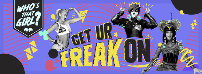 Who's That Girl? Get Ur Freak On - Bank Holiday Special