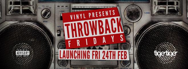 Vinyl presents Throwback Friday!