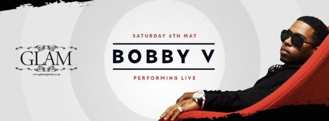 Glam Presents Bobby V LIVE