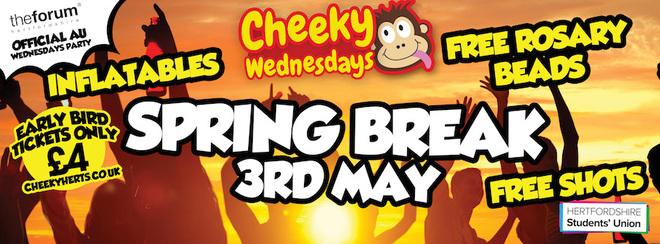 Cheeky Spring Break - £3 TICKETS!!!