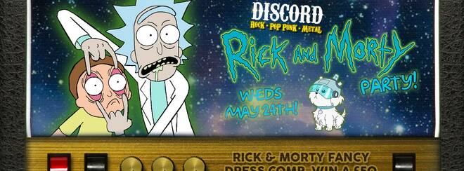 Discord - Rick and Morty Party!