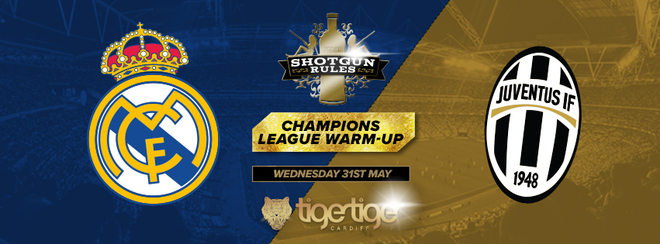 Shotgun Rules Wednesdays Champions League Warm UP