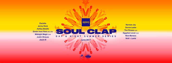 Soul Clap Day & Night Summer Series w/ Jazzie B + more