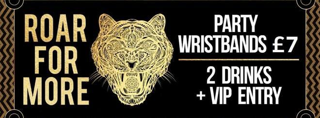 Friday Night VIP Wristbands!