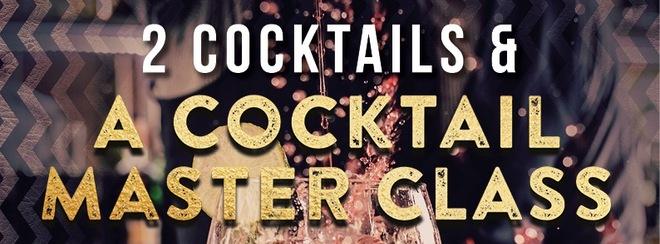 Cocktail Master class Thursdays at Tiger Tiger
