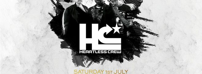 White Label Entertainment Presents Heartless Crew. GLAM. 01.07.17