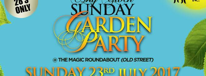 AGS Garden Party - Sun 23rd July - Ltd FREE Tkts Available