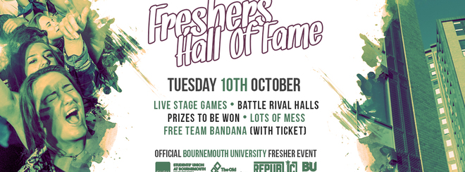 Hall of Fame ▸ Bournemouth Freshers