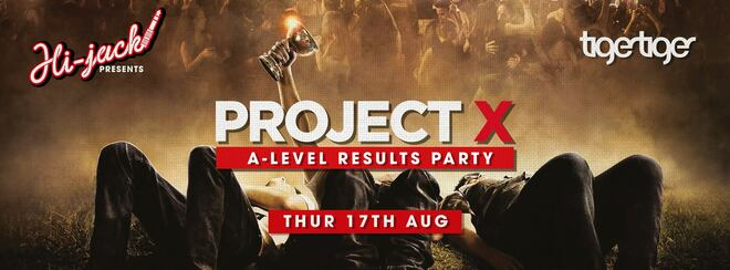 A Levels Results Night at Tiger Tiger! Project X Frat Party!