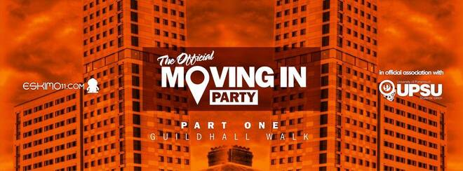 Official Freshers Moving in Party - NIGHT ONE - Guildhall Walk