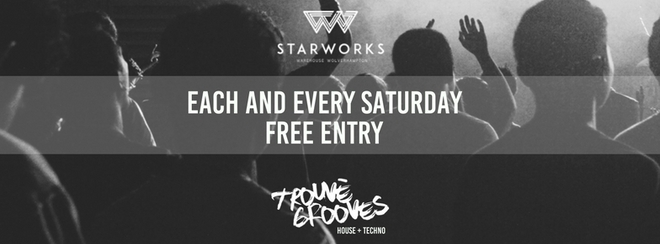 Trouvè Grooves at Starworks Warehouse - Week 4
