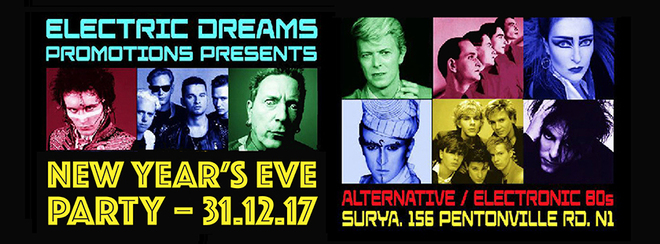 Electric Dreams New Years Eve Party