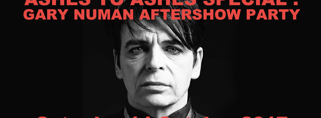 Ashes to Ashes (Gary Numan Special)