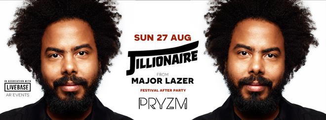 Voodoo Present Jillionaire from Major Lazer